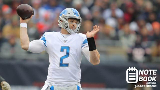 NOTEBOOK: Driskel could be in line for second start