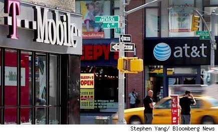T Mobile and AT&T