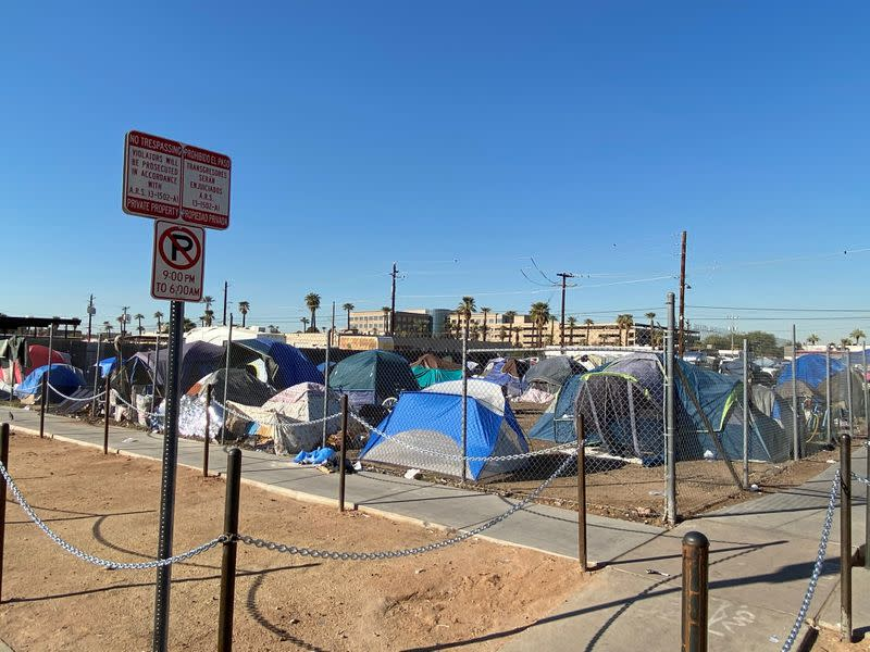 The Tent Cities of Pandemic America