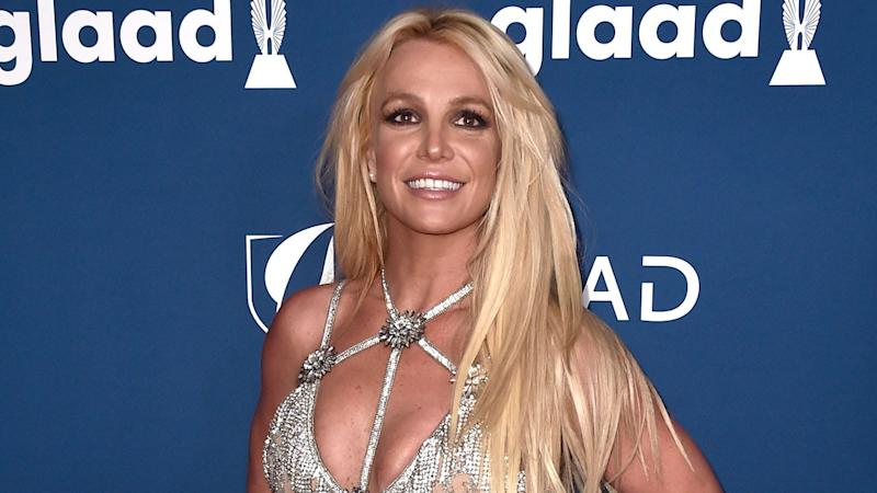 Britney Spears Displays Rock-Hard Abs in Sequined Outfit During European Leg of 'Piece of Me' Tour