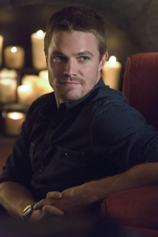 """""""Honor Thy Father"""" -- Stephen Amell as Oliver Queen"""