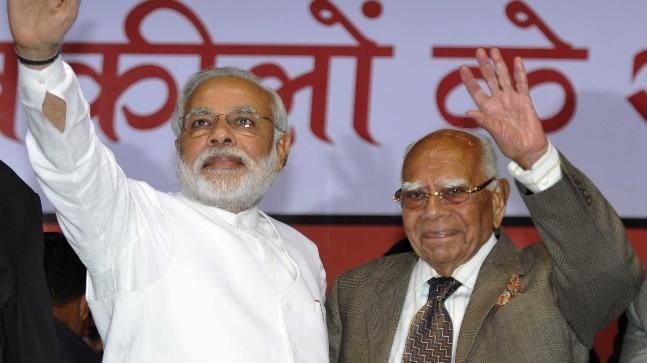 Speaking to India Today, senior lawyer Ram Jethmalani claimed that Karnataka Guv acted in consultation with Modi and that his aim now is to get rid of Narendra Modi.