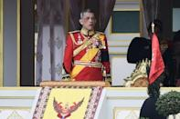 The May 4-6 coronation comes more than two years after Vajiralongkorn ascended the throne at the death of his father