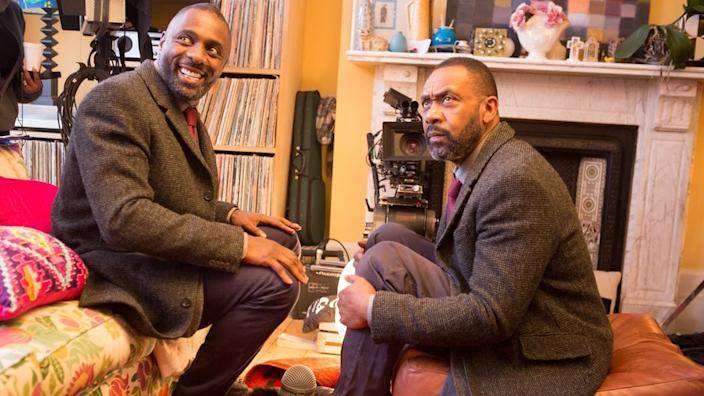 Sir Lenny Henry, with whom Elba appeared in a 2016 Sport Relief sketch, received his own special Bafta that same year