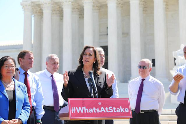 Sen. Kamala Harris of California. (Photo: U.S. Senate/Planet Pix via Zuma Wire)