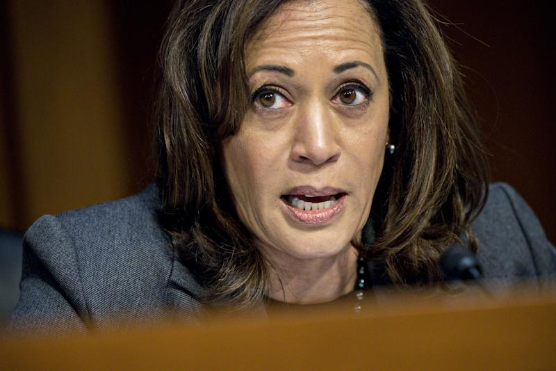 Sen. Harris: Trump Holding Americans 'Hostage' With 'Vanity Project'