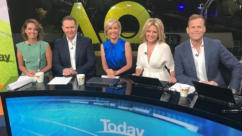 Brooke Boney, Deborah Knight, Georgie Gardner and tom steinfort new today show panel