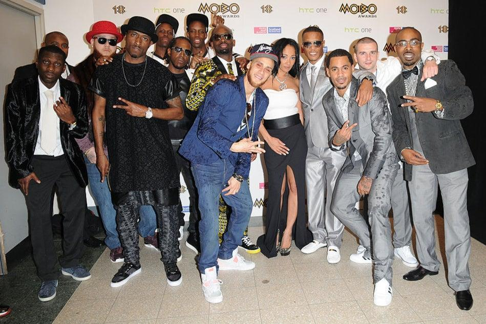 Maffia (centre) was part of the popular noughties garage and hip hop collective So Solid CrewGetty Images