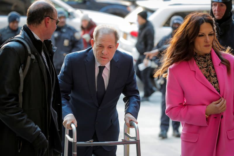 Judge refuses to remove himself after Weinstein's lawyers claim bias