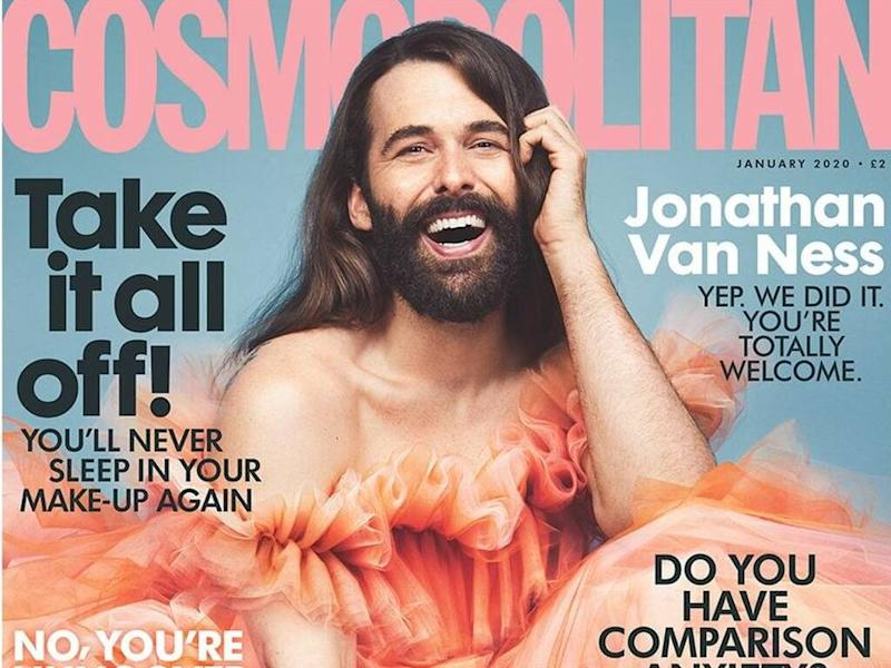 Jonathan Van Ness becomes first non-female cover star of Cosmopolitan U.K