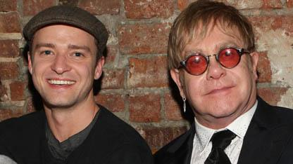 Elton Wants Timberlake to Portray Him