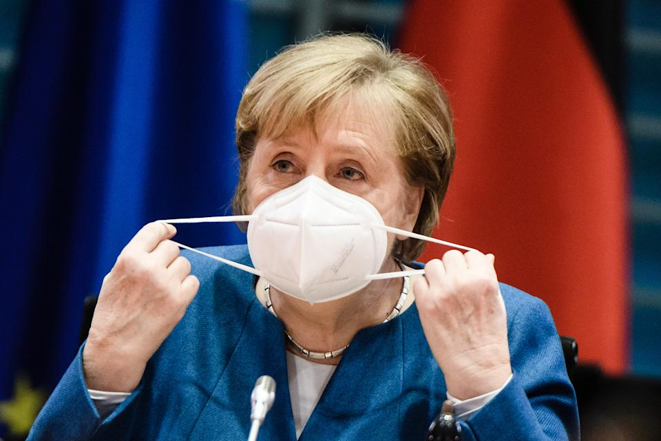 Bundeskanzlerin Angela Merkel. (Bild: Clemens Bilan - Pool/Getty Images)