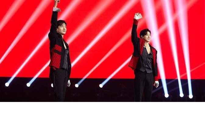 TVXQ dalam SMTown Live Culture Humanity. (Instagram/smtown)