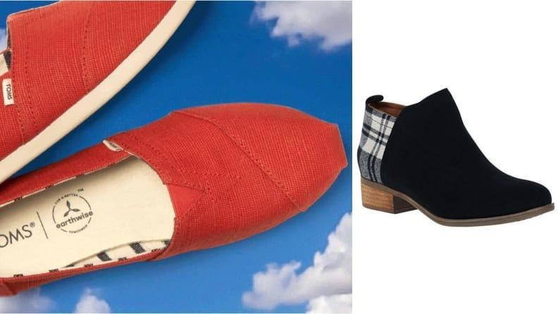 When you wear Toms, you look good and feel good.