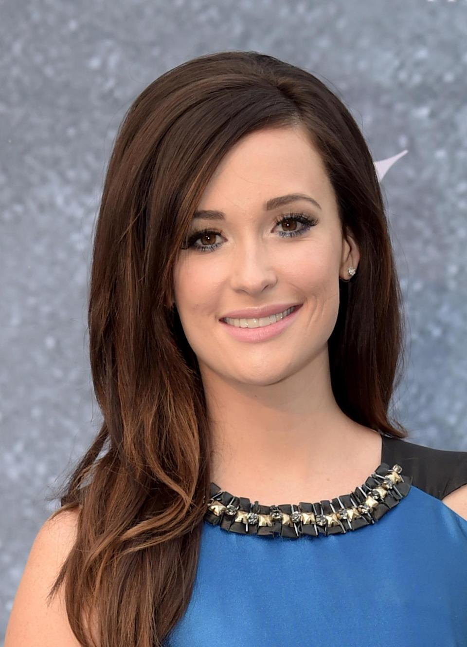 <p>Kacey Musgraves grew out her hair for a more polished look. <i>(Photo: Getty Images)</i></p>