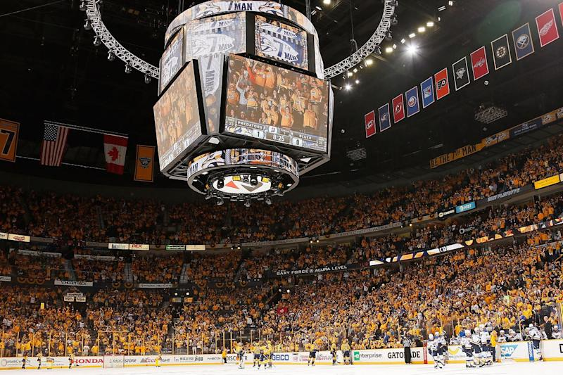 Predators oust Blues to make franchise history
