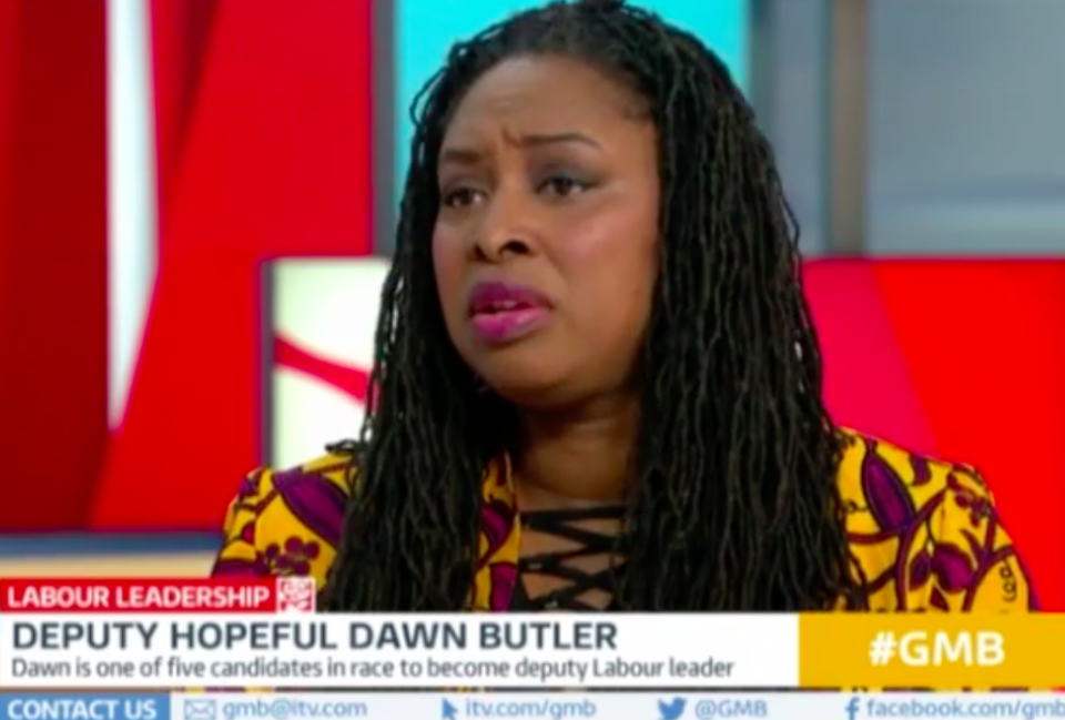 Labour MP said 'a child is born without sex' during an interview on Good Morning Britain (Picture: ITV)