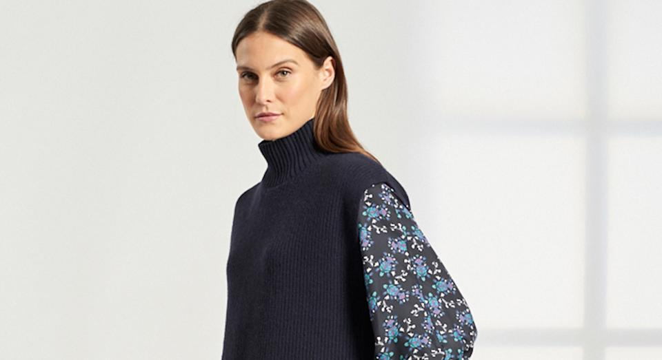 Cefinn's sell-out jumper is back in stock - but not for long.  (Cefinn)