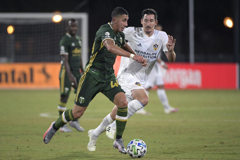 Portland gets spark from Blanco, Timbers beat Galaxy 2-1