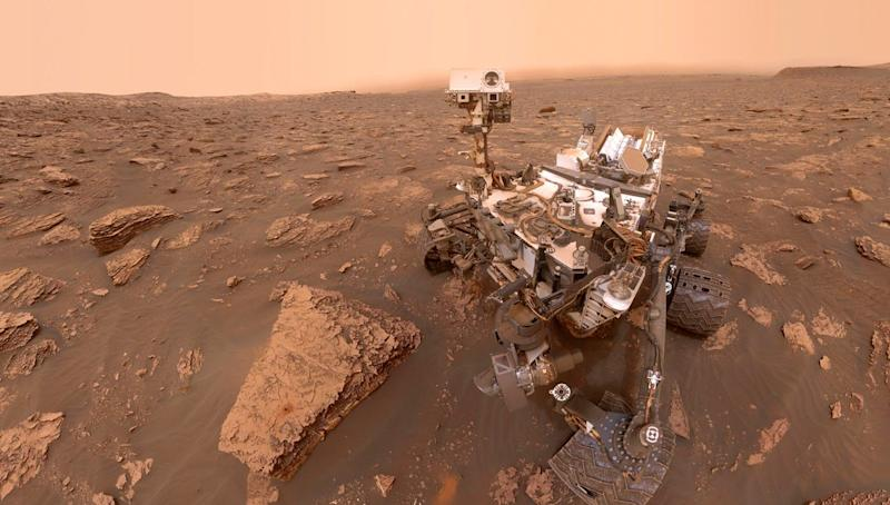 High Amounts of Methane Discovered on Mars