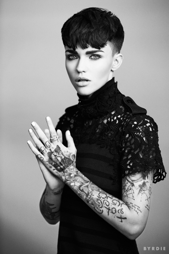 303989e871aff Meet  Orange Is the New Black s  Gorgeous New Inmate  Ruby Rose
