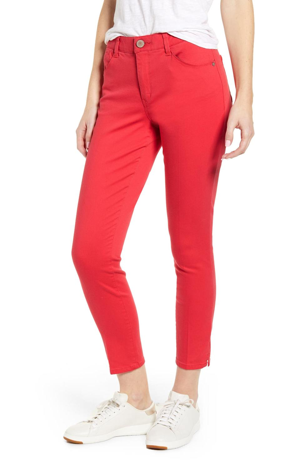 Save 40% on the Wit & Wisdom Ab-Solution High Waist Ankle Skinny Pants. Image via Nordstrom.