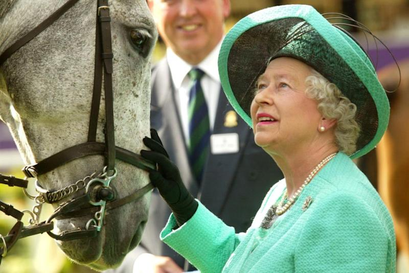 The Queen earns a mint from racing horses. Photo: Getty Images