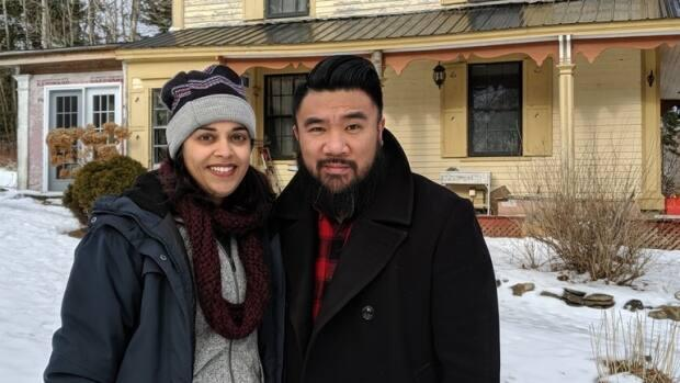 Marakoshi Baladad and his wife, Jas Shukla, moved to the small rural community of Hopewell Cape, N.B., in October 2019.