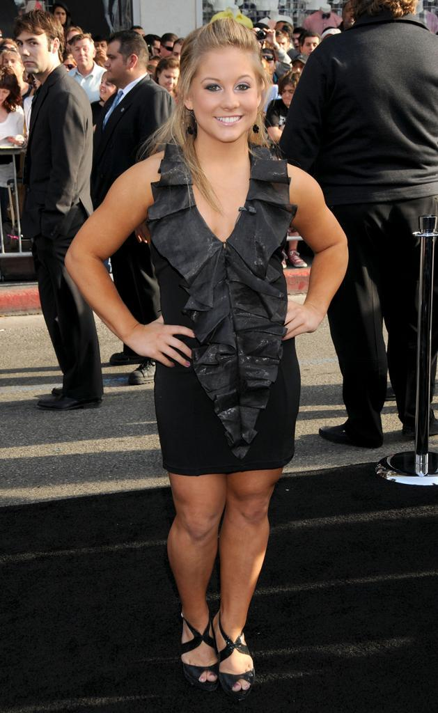 "April 30, 2009 Hollywood, Ca. Shawn Johnson ""Star Trek"" Los Angeles Premiere Held at Grauman's Chinese Theatre"