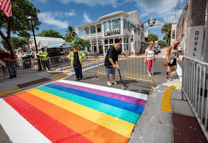 Key West's annual Pride event was canceled last year due to the pandemic. But it's on the calendar in 2021 for June 2-6.