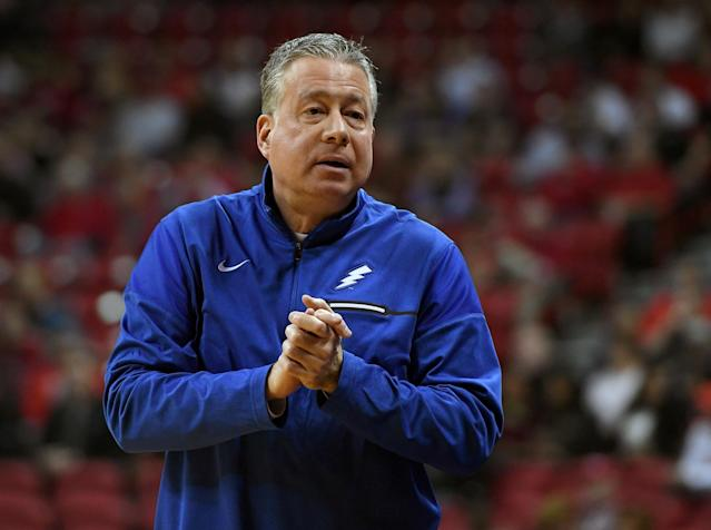 Air Force men's basketball coach Dave Pilipovich (Photo by Ethan Miller/Getty Images)