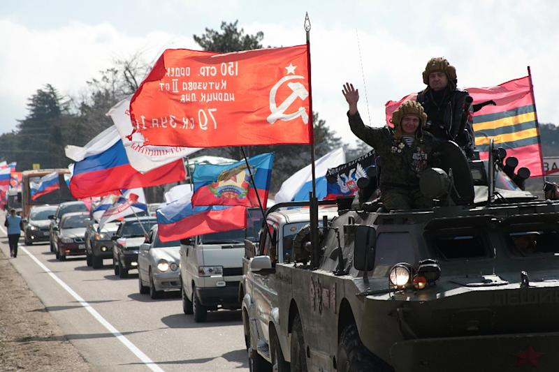 Moscow's 2014 takeover of Crimea was denounced by Kiev and the West and led to sanctions against Russia, but it resulted in a major boost of President Vladimir Putin's popularity at the time