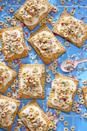 """<p>The icing-like spread on these delicious dessert-like treats is a combo of honey, sour cream, and confectioner's sugar. It's unbelievably good.</p><p><strong><a href=""""https://www.countryliving.com/food-drinks/recipes/a46339/honey-nut-cheerio-turnovers-recipe/"""" rel=""""nofollow noopener"""" target=""""_blank"""" data-ylk=""""slk:Get the recipe"""" class=""""link rapid-noclick-resp"""">Get the recipe</a>.</strong></p>"""