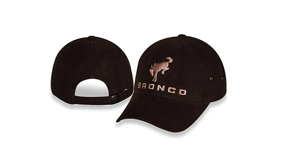 "<p>Just as there are several shirt designs, there are plenty of Bronco hats to choose from as well. We favor the simple approach with this solid canvas cap adorned with the Bronco name and logo.</p>   <ul><li><a href=""https://www.motor1.com/news/431995/watch-2021-ford-bronco-debut-july-13/?utm_campaign=yahoo-feed"" rel=""nofollow noopener"" target=""_blank"" data-ylk=""slk:How To Watch The 2021 Ford Bronco Debut On July 13"" class=""link rapid-noclick-resp"">How To Watch The 2021 Ford Bronco Debut On July 13</a></li><br><li><a href=""https://www.motor1.com/news/432769/2021-ford-bronco-spy-shots-interior/?utm_campaign=yahoo-feed"" rel=""nofollow noopener"" target=""_blank"" data-ylk=""slk:2021 Ford Bronco Spy Shots Reveal Off-Roader's Interior"" class=""link rapid-noclick-resp"">2021 Ford Bronco Spy Shots Reveal Off-Roader's Interior</a></li><br></ul>"