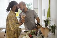 """<p>When your husband shows that he wants you to feel protected, safe, and loved, you know he's coming from a place of deep affection. Some examples of this, according to <a href=""""https://therelationshipexpert.com/"""" rel=""""nofollow noopener"""" target=""""_blank"""" data-ylk=""""slk:Bronstein"""" class=""""link rapid-noclick-resp"""">Bronstein</a>, include, """"When you're walking down the street, he walks closer to the curb. He asks you to call him whenever you get somewhere so that he knows you got there safely. He carries things that are too heavy for you, and he captures scary spiders when they're about to """"attack"""" you!"""" By always having your back, your husband is demonstrating that your wellbeing is his priority.</p>"""