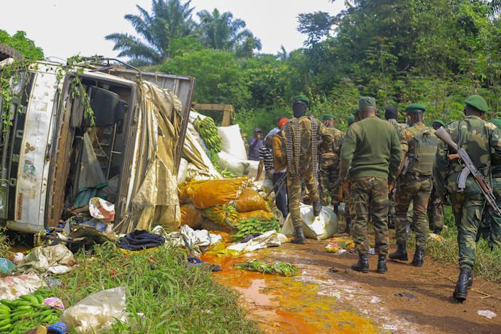 Congo Violence (Copyright 2021 The Associated Press. All rights reserved.)