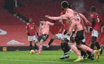 Premier League - Manchester United v Sheffield United