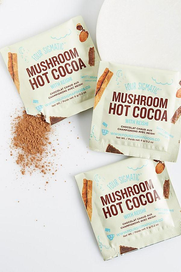<p>Besides being delicious, the <span>Four Sigmatic Hot Cacao With Reishi</span> ($17) is known for its calming properties, and is the perfect bedtime treat.</p>