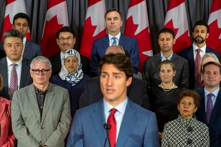 Canada's Trudeau pledges assault rifle ban, pivots campaign amid blackface scandal