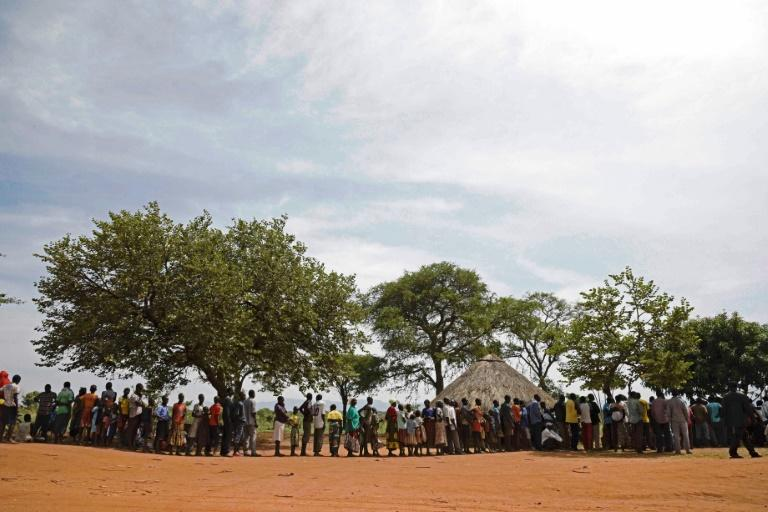 """""""I visited places where people are trapped in what are called 'protection of civilian' camps. The women there face a choice between hunger or stepping out and being raped while looking for food,"""" Oxfam International's Winnie Byanyima said"""