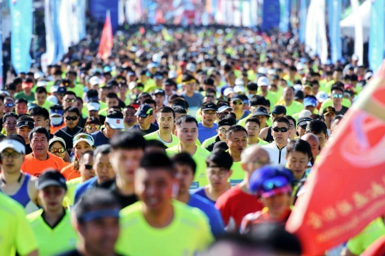 Distance running has exploded as a sport in China