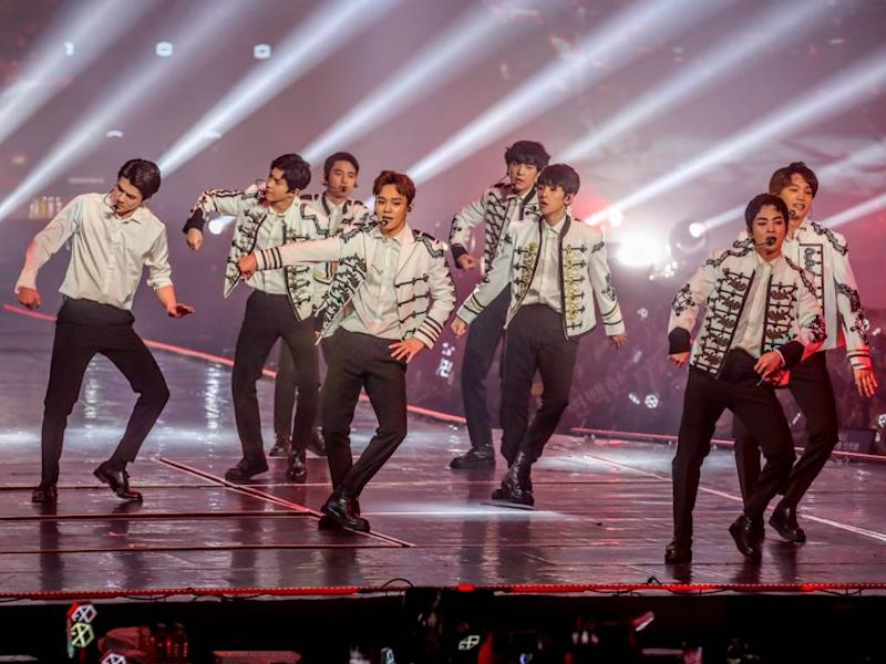 EXO held their third concert in Malaysia last weekend.