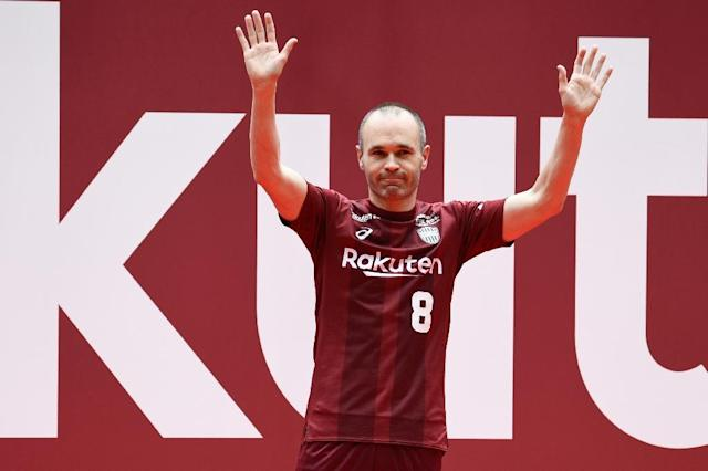 Andres Iniesta's move to J-League side Vissel Kobe is arguably Japanese football's biggest transfer coup (AFP Photo/Martin BUREAU)