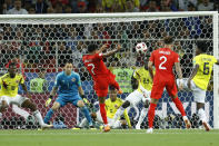 <p>Jesse Lingard can't keep his shot down </p>