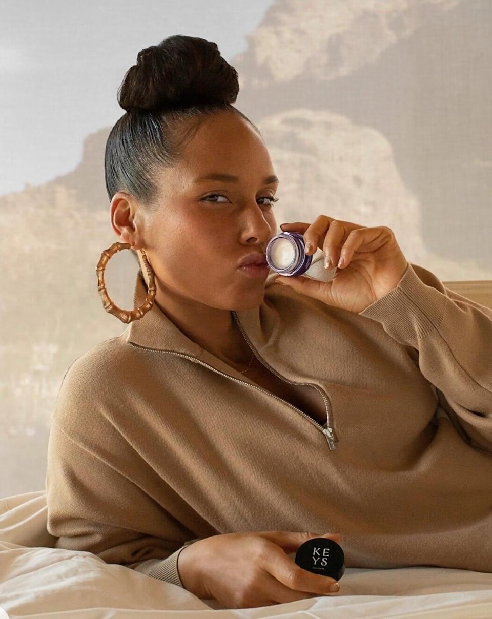 """<p>To call Keys Soulcare a beauty brand is a bit of a stretch. Yes, its core products are skin-care products, and yes, it's part of the E.L.F. family, but there's just something deeper about what Alicia Keys is offering in her 2020-launched line. Namely, the ritual. """"What I've realized is I need to be able to have the space for myself — I need to be able to have a few minutes,"""" <a href=""""https://www.allure.com/story/alicia-keys-soulcare-first-ritual-skin-care-products?mbid=synd_yahoo_rss"""" rel=""""nofollow noopener"""" target=""""_blank"""" data-ylk=""""slk:Keys told Allure"""" class=""""link rapid-noclick-resp"""">Keys told <em>Allure</em></a>. """"It doesn't have to be forever, but a few minutes really to really take care of the outer and the inner."""" </p> <p>Star product: The <a href=""""https://shop-links.co/1747582581993508969"""" rel=""""nofollow noopener"""" target=""""_blank"""" data-ylk=""""slk:Be Luminous Exfoliator"""" class=""""link rapid-noclick-resp"""">Be Luminous Exfoliator</a> ($22) is a favorite among <em>Allure</em> editors, and that includes beauty assistant Michella Oré, who loves what it does (and doesn't do) to her sensitive skin. """"<a href=""""https://www.allure.com/sponsored/story/keys-soulcare-clean-beauty-complete-soulcare-ritual-set-review-photos?mbid=synd_yahoo_rss"""" rel=""""nofollow noopener"""" target=""""_blank"""" data-ylk=""""slk:This formula is super gentle"""" class=""""link rapid-noclick-resp"""">This formula is super gentle</a>, thanks to the oats and mung beans, and it is not an exaggeration when I say my face looked instantly smoother and glowy after I used it,"""" she says.</p>"""