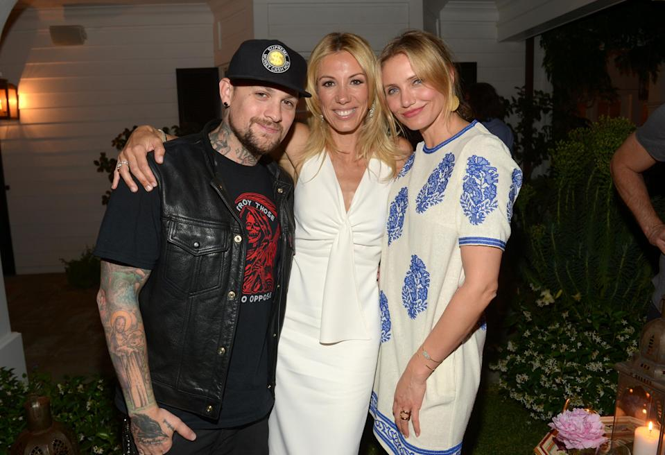 <p>The dynamic duo made an appearance at their friend Vicky Vlachonis's launch of <em>The Body Doesn't Lie.</em></p>