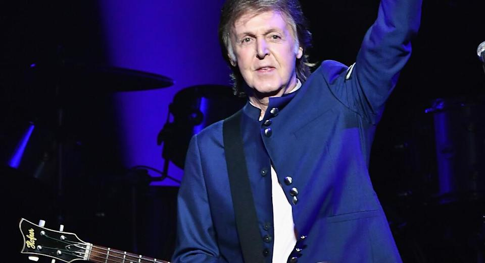 Paul McCartney à American Aillines Arena, 2017 © Gustavo Caballero/Getty Images/AFP