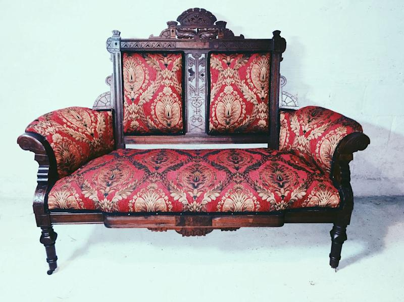 The sofa that Tyler Hurwitz and Matjames Metson worked on together