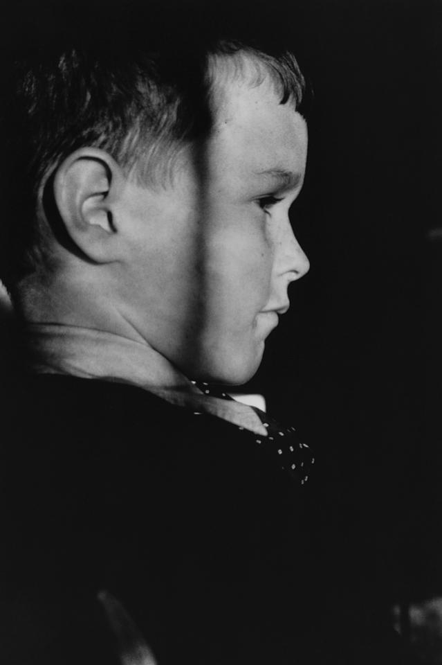<p>George Bush as a young boy. (Photo: Corbis) </p>