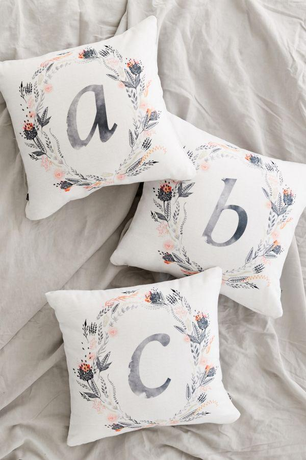"<p>Personalized gifts are great but can often cost a pretty penny. Keep it simple by opting for an initialed monogram throw pillow in a neutral color scheme that your BFF will love.<br><strong><a href=""https://fave.co/2Qpki8u"" rel=""nofollow noopener"" target=""_blank"" data-ylk=""slk:SHOP IT"" class=""link rapid-noclick-resp"">SHOP IT</a>:</strong> $44, <a href=""https://fave.co/2Qpki8u"" rel=""nofollow noopener"" target=""_blank"" data-ylk=""slk:urbanoutfitters.com"" class=""link rapid-noclick-resp"">urbanoutfitters.com</a> </p>"